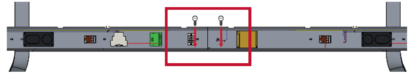 LD Floor Stand Connecting the System Control Box 1.png