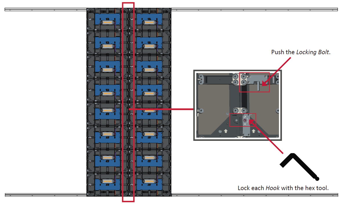 LD216-251 Wall Mounting Connecting Middle Screens.png